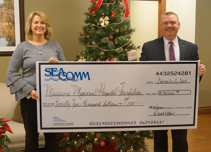 SeaComm Donates to Massena Memorial Hospital Foundation