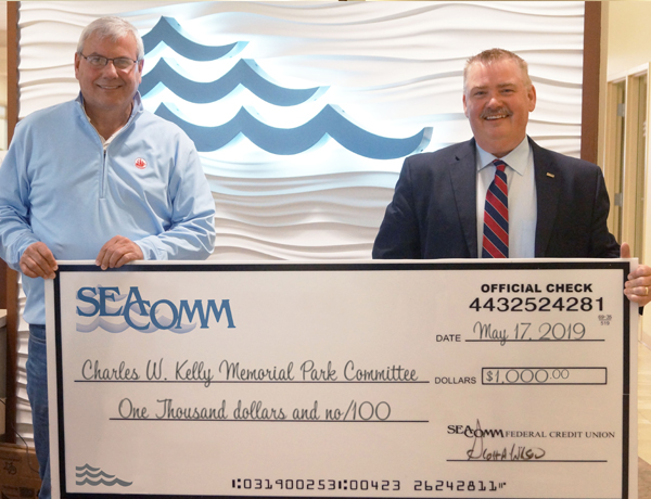 SeaComm Supports the Charles W. Kelly Memorial Park