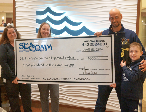 SeaComm Supports St. Lawrence Playground Project