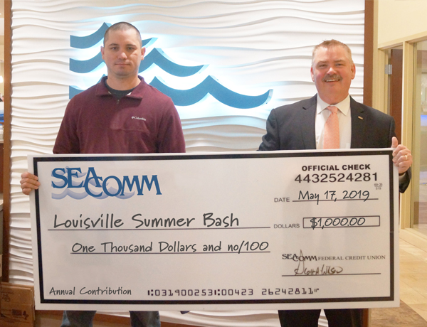 SeaComm Doantes to Louisville Summer Bash